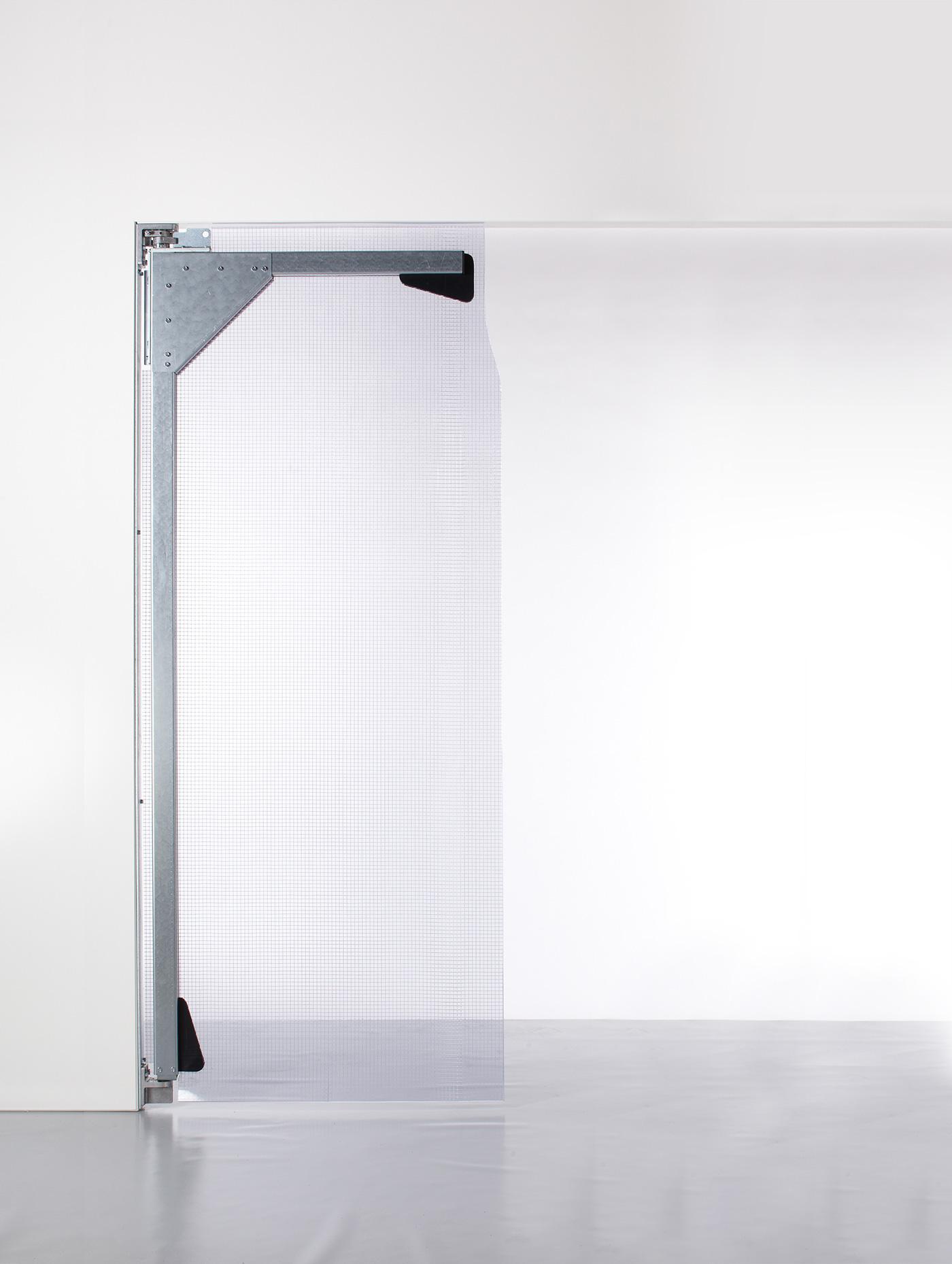PVC Pendeltür XL 1 Flügel